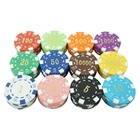Cheap Custom ABS Plastic Material Casino Playing Poker Chips Manufacturers