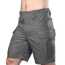 Уличные летние быстросохнущие свободные боевые тактические шорты для мужчин-(оливковый Драб) XXL(Китай)