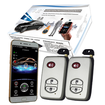 4g Gps Gsm App Smart Cardot Remote Starter Engine Start Stop Keyless Entry System Car Alarm