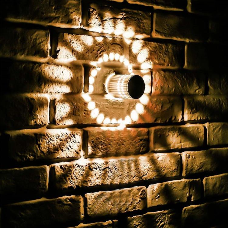 알루미늄 3W RGB 나선형 벽 램프 원격 제어 KTV 바 분위기 램프