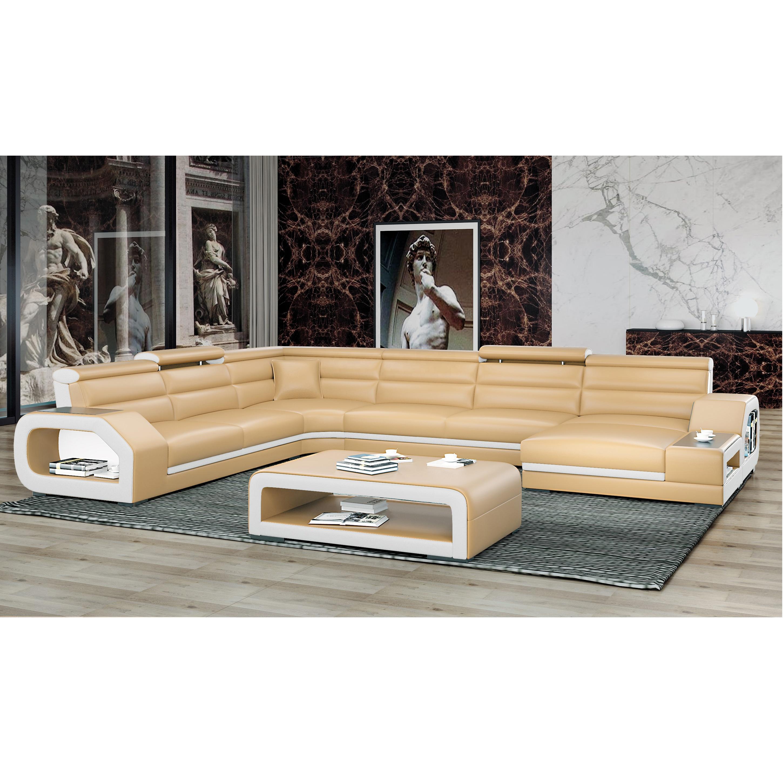 Home Furniture Used Leather Sofa 1806b