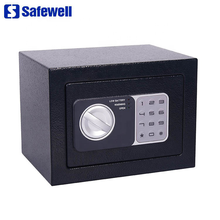 Safewell 17NEF wholesale car safe safety deposit box with fixed lock