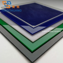 Yingchuang Acryl Materiaal Clear Kleur Wit Zwart Rood 1220*2440,1220*1830 <span class=keywords><strong>Size</strong></span> Hoge Kwaliteit Acryl Plaat