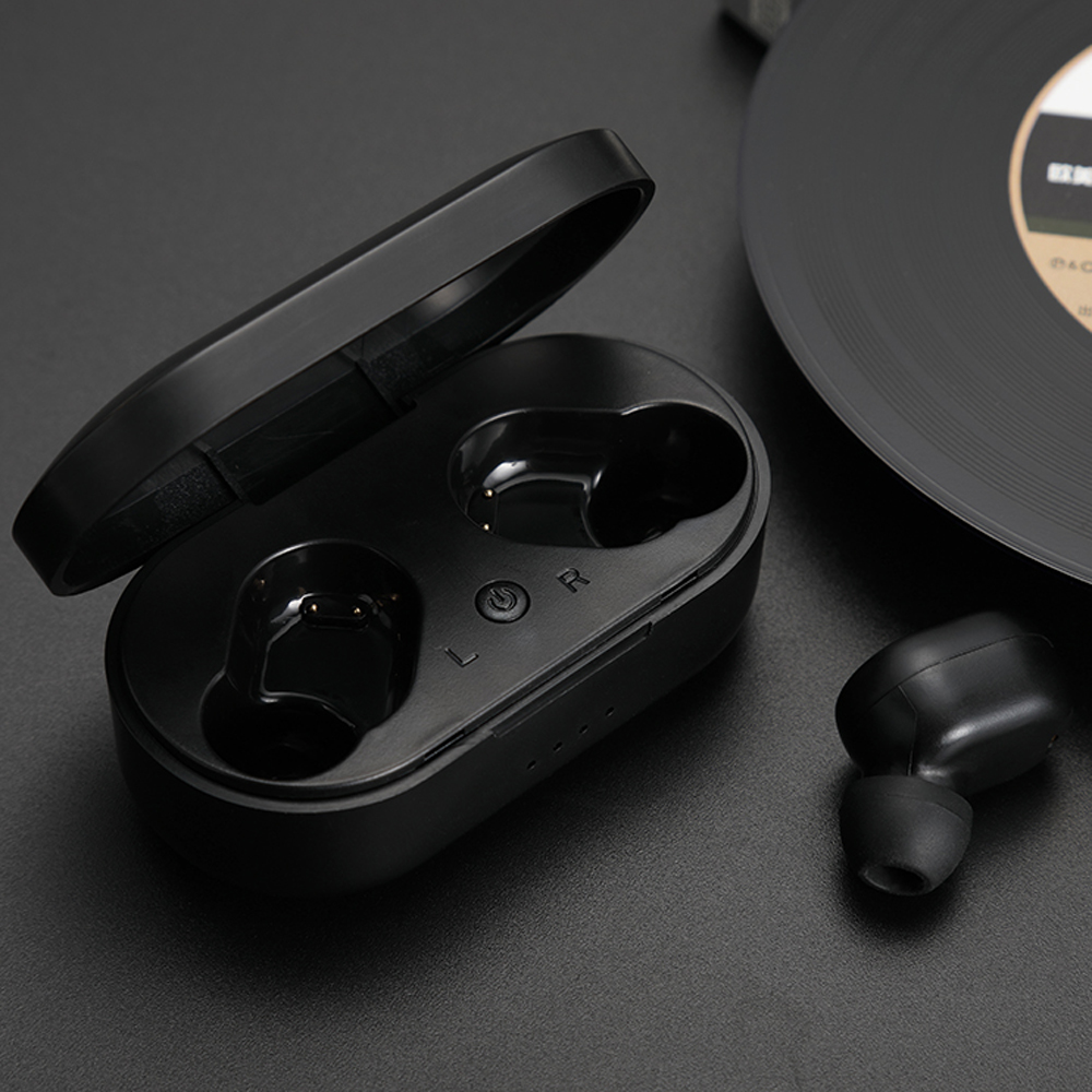 M1 Bluetooth Headsets for Redmi Airdots Wireless Earbuds 5.0 TWS Earphone Noise Canceling Microphone for iPhone Xiaomi Huawei