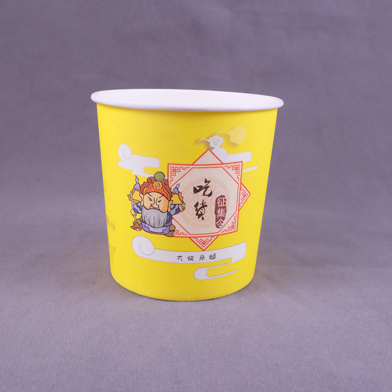 12 Oz Food grade factory directly sale takeaway round paper bowl for salad