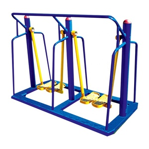 Floor-standing Double Person Custom Dimensions Step Air Walker Outdoor Exercise Gym Equipment