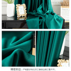 Wholesale Curtains Curtain Curtain Factory Directly Wholesale High Quality Curtains Party Green Curtain
