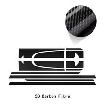 Автомобильный капот крышка двигателя Задняя Крышка багажника боковые полосы стикер комплект кузова наклейка для MINI Cooper S Paceman R61 JCW аксессуа...(Китай)
