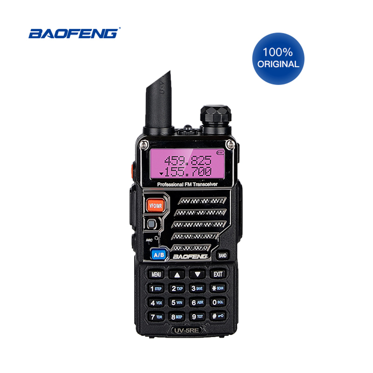 Baofeng UV-5RE bluetooth ip talkie-walkie shenzhen hf cb jambon radio bidirectionnelle 27mhz telsiz émetteur-récepteur talkie-walkie + talkie-walkie