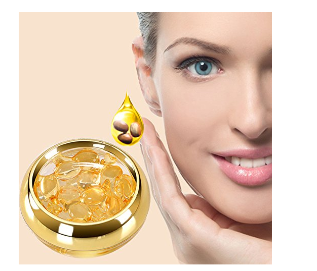 Natural Whitening 10 Peptide Face Capsule Serum For Face Care