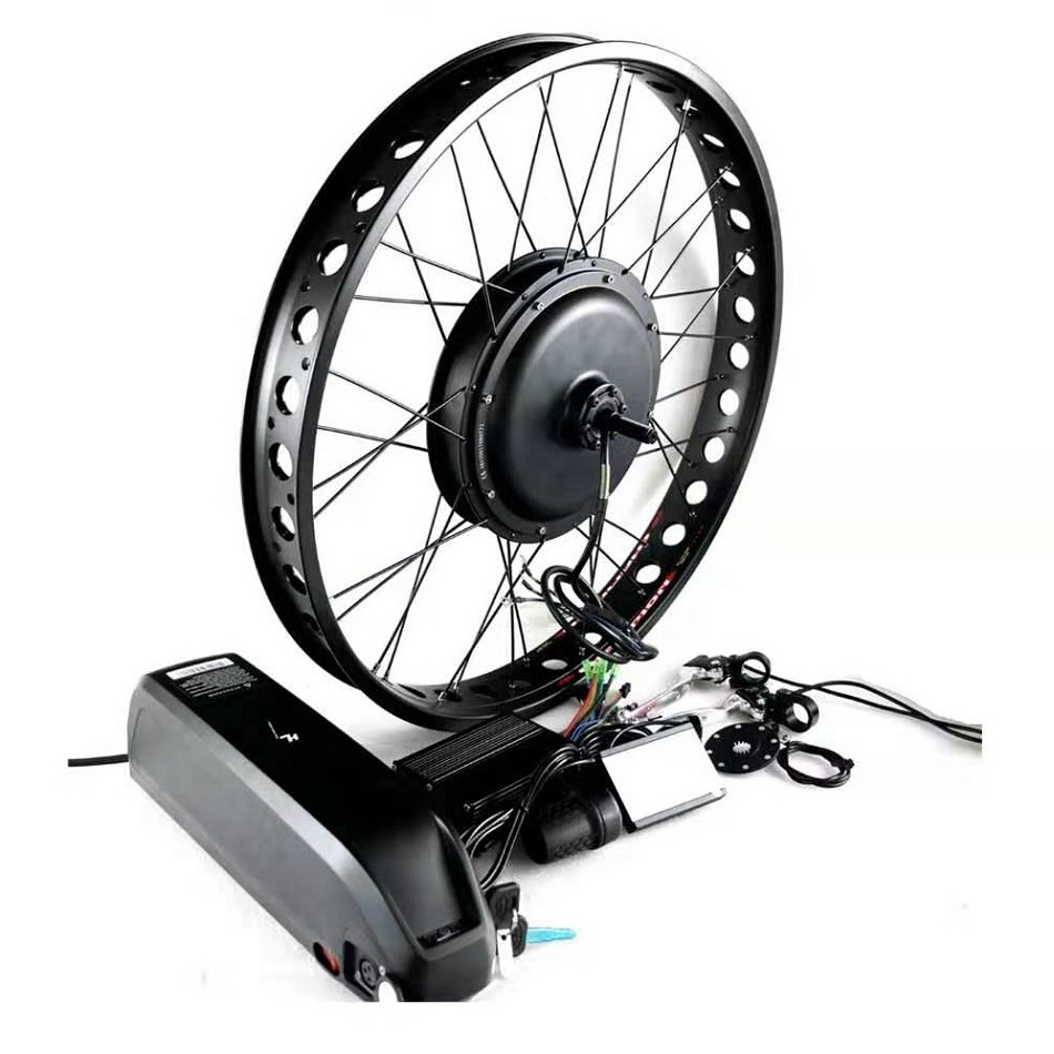 Fat Bike Electric Kit 20 24 26 Inch 48V 500W 750W 1500W Fat Tire Ebike Hub Motor