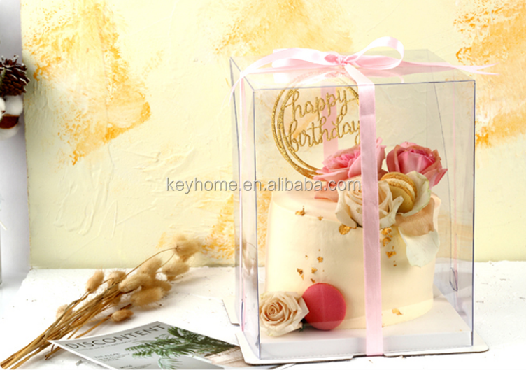 Top Quality Amazon Factory Unicorn Birthday Gift Transparent Box Paper