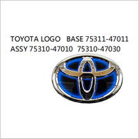 OEM BASE 75311-47011 ASSY 75310-47010 75310-47030 FOR TOYOTA PRUIS 2012 AUTO CAR TOYOTA LOGO
