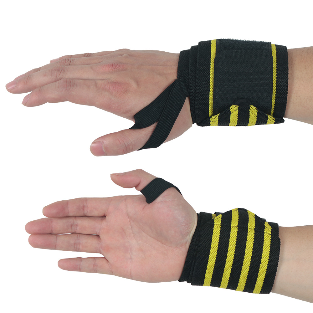 Factory outlet wrist wraps pakistan logo lifting in stock