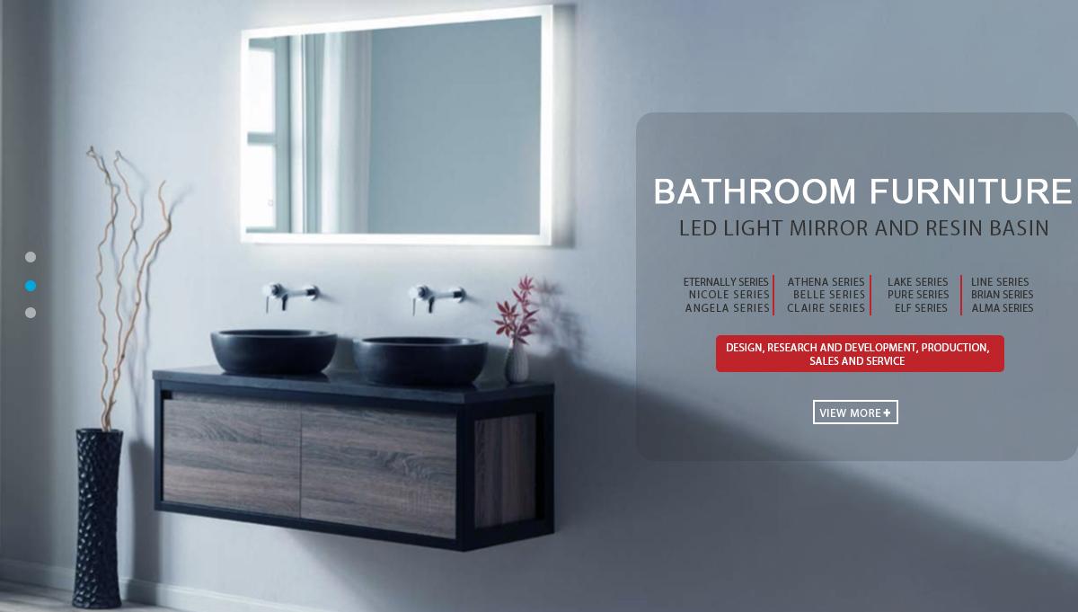 Shanghai Mebo Industry Co., Ltd. - Bathroom Cabinet, Led mirror