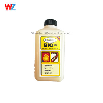 Biral Bio-30 high temperature chain oil for SMT reflow oven and wave soldering machine
