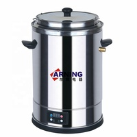 20L Catering Equipment Electric kettle base Electric Milk Boiler Double Wall Milk Boiler with digital control