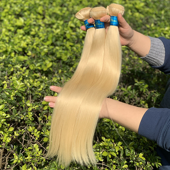 Wholesale Russian Blonde 613 Virgin Hair Bundle,613 Raw Virgin Cuticle Aligned Hair Vendor,100% 613 Blonde Human Hair Extension