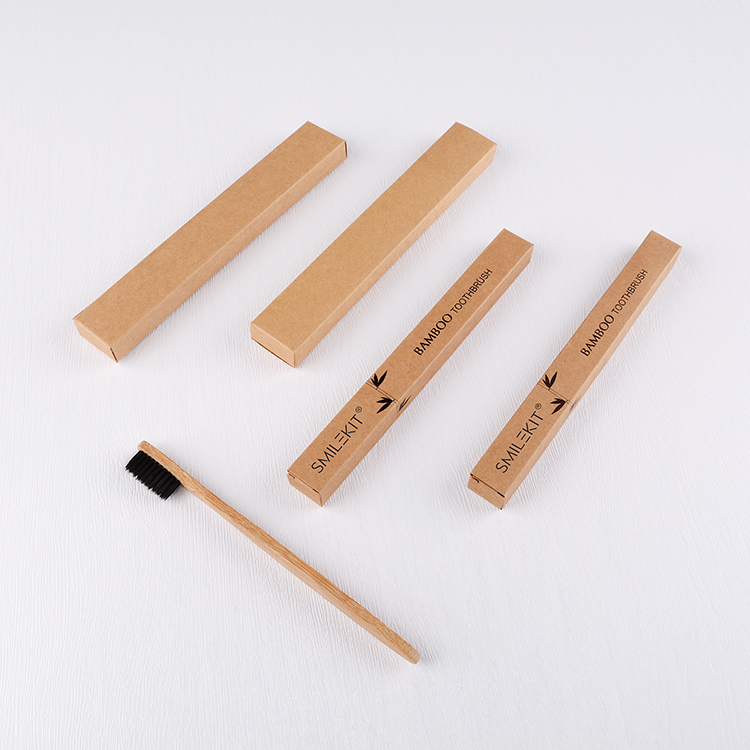 Toothbrush Private Laser Logo Personalized Bamboo Toothbrush