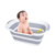 Foldable Multifunction collapsible plastic shower basin laundry basket folding TPR PP Pet Baby Bath Tub