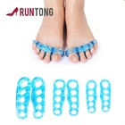 Silicone Gel Toe Stretcher Separator Five Toes Separators