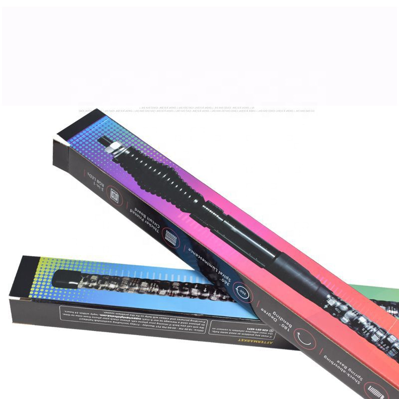 Factory custom energy saving led fluorescent lamp long paper packaging box