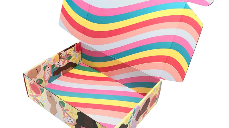 Kertas Daur Ulang Kemasan Disesuaikan Surat Kotak Karton Kustom Bergelombang Mailer Pakaian dengan Harga Murah Kotak Hadiah untuk Pakaian