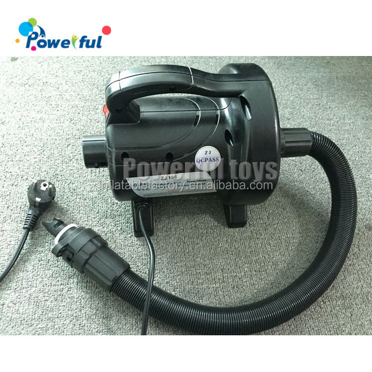 Ready to ship small electric air pump for inflatable products