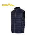 OUTER WEAR Mens Vest Men Hot Sale Comfortable Waterproof Mens Blue Wholesale Mens Vest Winter