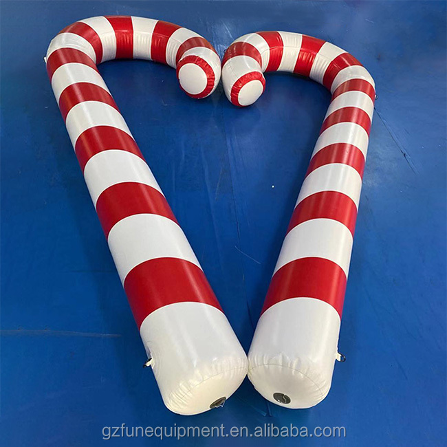 Inflatable red cane5
