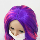 Wig The Price Is Good And Can Be Customized Loose Wave Hair Wig Synthetic Doll Hair Wig