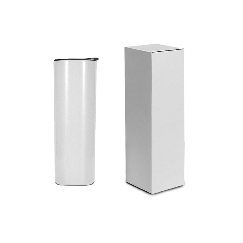 Factory wholesale 20 oz Vacuum stainless steel straight sublimation blanks tumbler cups in bulk with lid, Customized colors acceptable