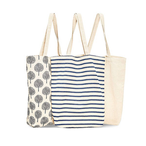 Promotional cheap hotsale eco natural color custom logo printed shopping cotton cloth canvas tote bags with handles