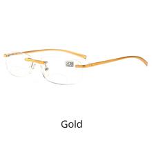 Ralferty, высокое качество, бифокальные очки для чтения, мужские, ультра-легкие, алюминиевый магний, без оправы, очки для пресбиопики, мужские Z5108(Китай)