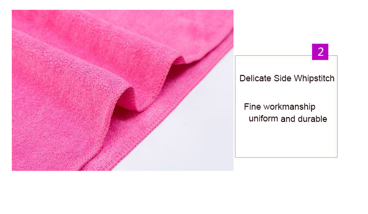 Factory direct sale superfine fiber towel thickening strong water absorption, repeated use of headscarf can be customized logo