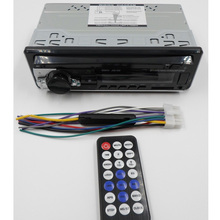 12V Bluetooth 2.0 1-Din Car Radio FM Audio Stereo <span class=keywords><strong>MP3</strong></span> Player con Telecomando