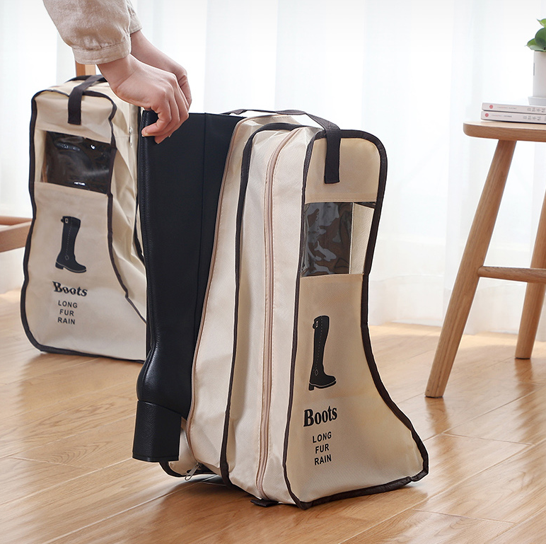 product-GF bags-Customized Shoes Storage Bag Organizer Non-woven Travel Portable Bag Waterproof Pock-1