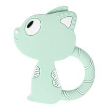 1 шт., детский силиконовый Прорезыватель в виде животных, игрушки для кормления зубов, Силиконовые Прорезыватели BPA DIY, подарки для новорожде...(Китай)