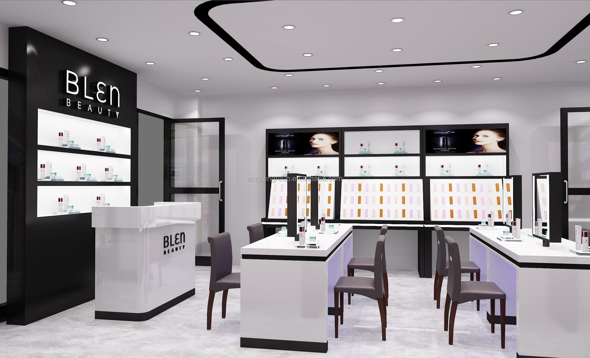 Multifunctional perfume shop Cosmetic Display makeup interior Design Ideas for Small Store