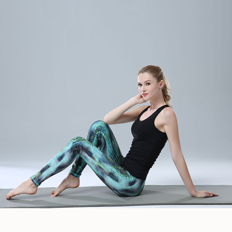 Wholesale Yoga Pants Polyester For Women High Waist Gym Leggings