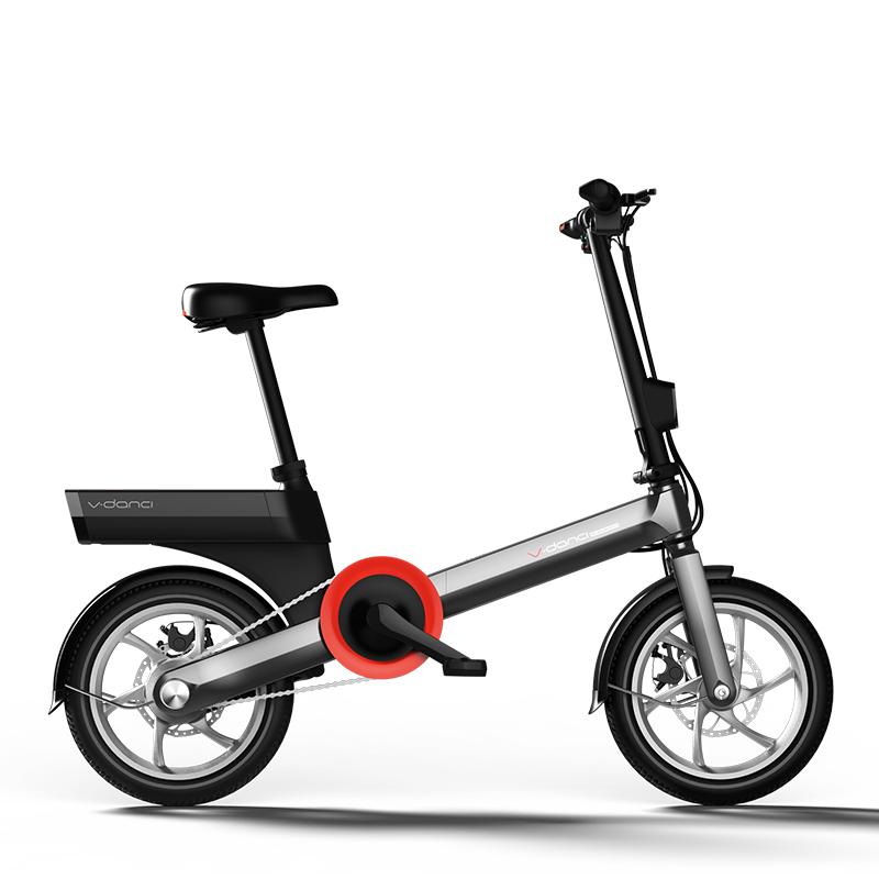 จีนโมเดิร์นออกแบบใหม่ 14 inch มินิจักรยานพับไฟฟ้าจักรยาน