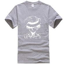 Син мужские T-shirt100 % хлопковые футболки, высокое качество, модная, повседневная, смешная игра аниме футболка с принтом для мужчин брендовая о...(Китай)