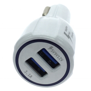 Wholesale 2 port car charger adapter usb car cell phone charger