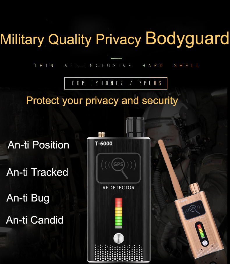 Multi-function cell phone Anti-spy Detector Camera GSM Audio Bug Finder GPS Signal Lens RF Tracker Detect Wireless Detector