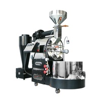 Stainless Steel 5Kg/6Kg/10kg/12kg Gas Coffee Roasting Equipment Roaster Machine /Machine Bean product processing machinery
