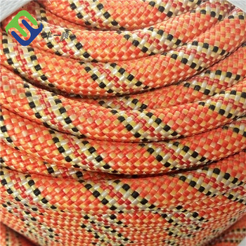 8mm Polyester Static Climbing Rope for Outdoor Sports