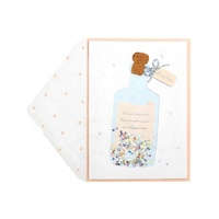 Best Seller Funny Foil Birthday Cards, Custom Printing Handmade Greeting Cards With Envelope
