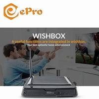 wishbox ePro DVB S2 android tv box with ADSL WIFI router for HDD CAS 2G ROM 8G RAM satellite tv receiver