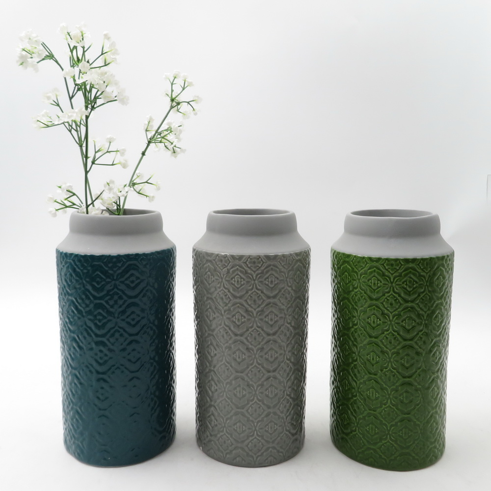 Cheap wholesale boot shaped ceramic vase for decoration