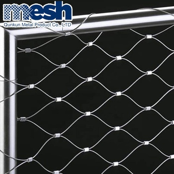 stainless steel  rope cable wire net